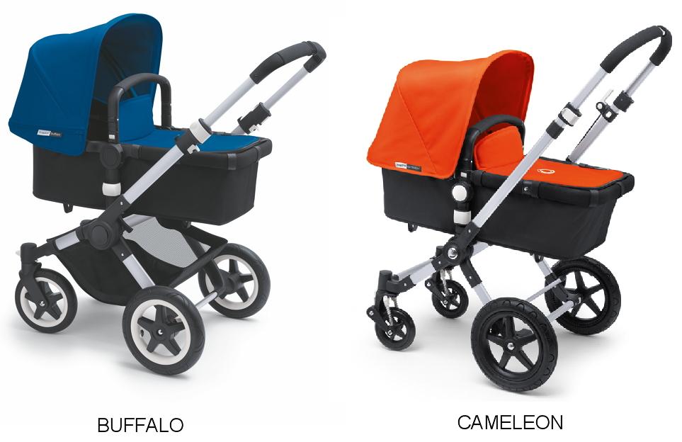 comparativa bugaboo cameleon vs bugaboo buffalo. Black Bedroom Furniture Sets. Home Design Ideas